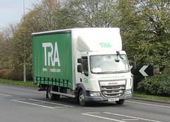 Tara Roadair FN68 HTG at Welshpool (Joshhowells27) Tags: lorry daf lf daflf tararoadair derby fn68htg curtainsider