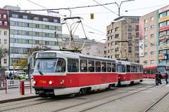 BTS_7789_201811 (Tram Photos) Tags: ckd tatra t3 t3p bratislava dopravnýpodnikbratislava dpb strasenbahn tram tramway električková mhd električka