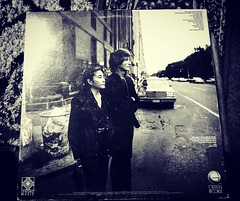 Backside of double fantasy. I love this picture. ✌❤ (wbstzone) Tags: johnlennon doublefantasy vinyl