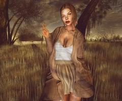 I love fall !! ♥ (Silvia Galtier) Tags: silviagaltier secondlife sl ella noor jaradnoor jarad mandala revoul bento blog autumn