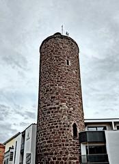 Vacha (cangaroojack) Tags: vacha thüringen deutschland wartburgkreis werra stadt altstadt thuringia germany german town old small tower hdresque