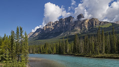 River before Castle Mountain_ (jgray537) Tags: explorealberta explorecanada explore mountain rockymountain canada alberta albertacanada banffalbertacanada banffcanada castlemountainbanff castlemountain