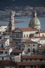 Vietri sul Mare (maresaDOs) Tags: vietrisulmare salerno campania it italia italy church landscapes sea campanile