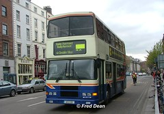 Dublin Bus RA307 (96D307). (Fred Dean Jnr) Tags: april2005 dublin dublinbus busathacliath dublinbusbluecreamlivery volvo olympian alexander r ra307 96d307 westmorelandstreetdublin p314swc