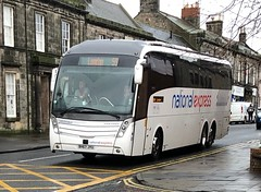 Parks of Hamilton National Express BV67 JYU (26.11.2018) (CYule Buses) Tags: service591 b11rt volvob11rt volvobus nationalexpress parksofhamilton caetanolevante bv67jyu