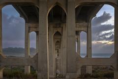 San Diego Gothic (ihikesandiego) Tags: north torrey pines road bridge sunset san diego del mar
