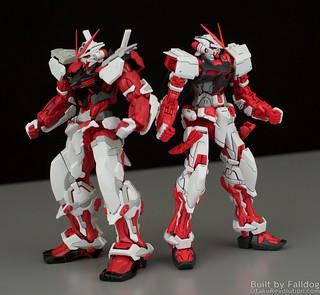 HiRM Astray Red Frame Gundam 15 by Judson Weinsheimer