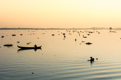 Amarapura (Laszlo Horvath.) Tags: myanmar burma amarapura nikond7100 sunset lights