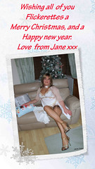 Hope you all have a great Christmas and a fun filled 2019. Love Jane xx (janegeetgirl2) Tags: transvestite crossdresser crossdressing tgirl tv ts trans merry happy christmas 2018 jane gee stockings nightgown nightie heels scarf