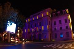 320 août 2018 - Auvergne, Le Puy-en-Velay, le Théâtre du Puy illuminé, Place Michelet (paspog) Tags: france auvergne hauteloire lepuyenvelay théâtre théâtredupuy illuminations août august 2018
