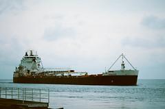 Edit -1-9 (Dane Van) Tags: porthuron michigan puremichigan lakehuron greatlakes greatlakesstate unsalted film analog boat ship canon rebelg eos 500n kodak ektar ektar100 135mm