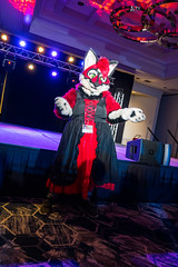 DSC08996 (Kory / Leo Nardo) Tags: pacanthro pawcon paw con pac anthro convention fur furry fursuit suiting mascot sona fursona san jose doubletree hotel california dance party deck animals costuming pupleo 2018