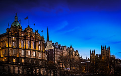 Edinburgh, Scotland, UK (ABKamleh) Tags: bluehour night edinburgh scotland architecture nikon d7200