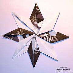Versatile Star (AnkaAlex) Tags: origami origamistar paperfolding paper paperfoldingart origamiart origamist