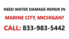 Water damage repair Marine City, Michigan MI #833-983-5442 (bennett.onmarketa) Tags: water damage repair marine city michigan mi 8339835442