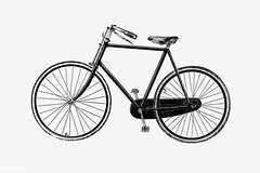 Bicycle in vintage style (Free Public Domain Illustrations by rawpixel) Tags: fon 19th monograph aged antique bicycle big bike blackandwhite cc0 century creativecommons0 cycle cycles design drawing elegance elegant engraving equipment etching generation historical history illustration imperial isolated machine machinery monographic name old pedal publicdomain retro ride roadster rover sampsonlowco sketch speed style transport transportation travel vehicle vintage wheel whitebackground