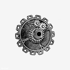 Gear cog in vintage style (Free Public Domain Illustrations by rawpixel) Tags: monograph cassellco cc0 classic cog creativecommons0 decor decoration drawing engine engineering engraving equipment etching factory gear historical history icon illustration industrial industry isolated machinery mechanical mechanics metal monographic motion name old part power progress publicdomain retro sign style symbol tattoo technical technology vintage wheel