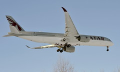 Qatar A7-ALS, OSL ENGM Gardermoen (Inger Bjørndal Foss) Tags: a7als qatar airbus a350 osl engm gardermoen