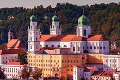 Dom St. Stephan in Passau (Roman Achrainer) Tags: achrainer passau bayern ststephan kirche dom