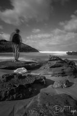 Stop this time... (Bilel Tayar) Tags: seacape sea blackandwhite beach time longexposure poselongue plage mer sky nuage algeria coast coastline rivage littoral nikond5200 filtrend landscape bw bileltayar