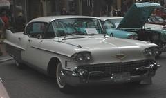 1958 Cadillac Sixty Special Fleetwood 4-door sedan (D70) Tags: annualsteamworks concoursdelegance 2005 gastown vancouver britishcolumbia canada cadillac 4door sedan 1958 fleetwood 7535us 365cid ohv v8 310hp oneof12900 sixty special