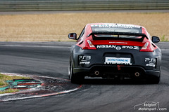 Nissan 370z GT4 (belgian.motorsport) Tags: nissan 370z gt4 nismo rjn 2012 circuit zolder test testing testday testdag verschuur equipe coronel