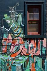 Urban art @ Fitzroy, Melbourne (SuzieAndJim) Tags: suzieandjim abstract graffiti australia melbourne fitzroy streetart urbanart