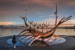 Sun Voyager (Sizun Eye) Tags: sunvoyager sculpture rejkjavik iceland dreamboat boat sunlight sizuneye nikond750 nisifilters tamron tamron2470mmf28
