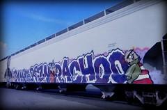 (timetomakethepasta) Tags: duky reznor achoo freight train graffiti art grainer hopper e2e ed edd eddy