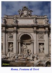 Fontana di Trevi (fr@nco ... 'ntraficatu friscu! (=indaffarato)) Tags: italia italy lazio roma rome fontana trevi fontanaditrevi