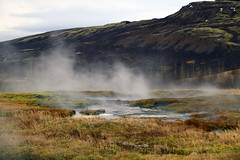 The geothermal field at Gesir (formerly Hverasandar), on the northern edge of the southern lowlands in Haukadalur, Iceland  -  (Selected by GETTY IMAGES) (DESPITE STRAIGHT LINES) Tags: nikon24120mmf4 nikon24120mmf4gedvr nikon d850 nikond850 nikkor24120mm nikon24120mm nikongp1 paulwilliams despitestraightlines flickr gettyimages morning getty gettyimagesesp despitestraightlinesatgettyimages iceland gesir gesiriceland geyser geothermic geothermal hafnartun selfoss ilobsterit