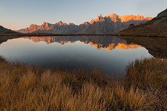 Rise (Nicolas Gailland) Tags: landscape nature paysage montagne mountain lac lake water eau reflets reflects reflections sunrise leverdesoleil claree clarée névache nevache cerces galibier hautesalpes alpes alps alpe canon hitech filter gnd mark