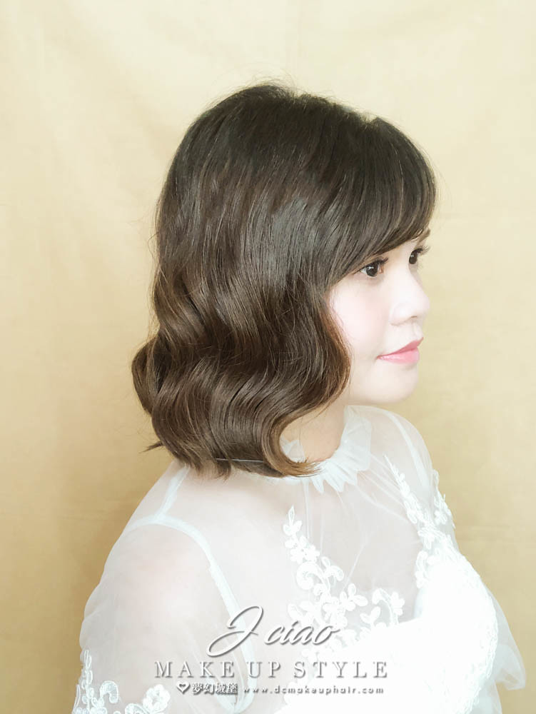 【新秘婕喬】新娘造型創作 / 短髮韓系造型