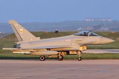 Typhoon FGR4 ZK329 'FH' 1 Squadron (Mark McEwan) Tags: eurofighter typhoon typhoonfgr4 zk329 1squadron raf royalairforce rafleuchars leuchars fighter airdefence aviation aircraft airplane