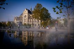 Paris, Les Halles (Calinore) Tags: paris france leshalles chatelet architecture reflet sainteustache