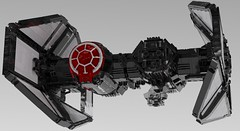 First Order TIE-SF Heavy Bomber