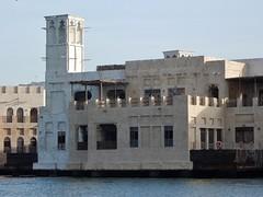 Reconstructed Past (mikecogh) Tags: dubai dubaicreek model pretend balcony tower nets tourism