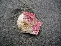Rock on beach (Orion 2) Tags: rock unique colorful beachindecember rediscoverthisday newfoundlandandlabrador canada