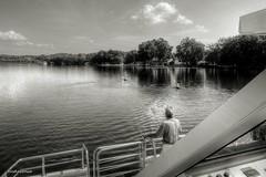 Please, a little calm. (AviAntonio) Tags: vaixell barco paisatge aigua agua estanydebanyoles girona