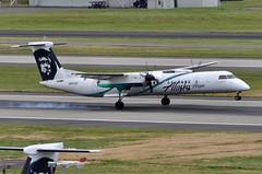 Alaska Airlines (Horizon Air) - Bombardier (De Havilland Canada) DHC-8-402Q (Dash 8 / Q400) - N452QX - Employee Powered - Flightpath - Portland International Airport (PDX) - June 3, 2015 4 306 RT CRP (TVL1970) Tags: nikon nikond90 d90 nikongp1 gp1 geotagged nikkor70300mmvr 70300mmvr aviation airplane aircraft airlines airliners portlandinternationalairport portlandinternational portlandairport portland pdx kpdx n452qx alaskaairlines horizonair horizon alaskaairgroup employeepoweredflightpath employeepowered flightpath speciallivery dehavillandcanada dehavilland dhc dehavillandcanadadhc8 dehavillandcanadadash8 dehavillanddhc8 dehavillanddash8 dhc8 dash8 q400 dhc8400 dhc8402 dhc8402q bombardieraerospace bombardier bombardierdash8 bombardierq400 prattwhitney pw prattwhitneycanada pwc prattwhitneycanadapw100 prattwhitneycanadapw150 prattwhitneycanadapw150a pwcpw100 pwcpw150 pwcpw150a pw100 pw150 pw150a turboprop tiresmoke
