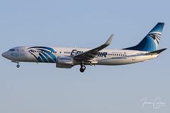 Boeing 737-866 – EgyptAir – SU-GEK – Brussels Airport (BRU EBBR) – 2018 12 13 – Landing RWY 01 – 01 – Copyright © 2018 Ivan Coninx (Ivan Coninx Photography) Tags: ivanconinx ivanconinxphotography photography aviationphotography boeing boeing737 boeing737800 boeing737866 737 b737 737800 737866 egyptair sugek brusselsairport bru ebbr spotting spotter luchtvaart