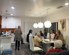 024 Heading For The Dinner Table (saschmitz_earthlink_net) Tags: 2018 california southerncaliforniagrotto christmasparty losangelescounty baldwinhills windsorhills party climbing practice