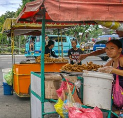 Street Food (Beegee49) Tags: street food chicken selling stand sony a6000 filipina happyplanet bacolod city philippines asia