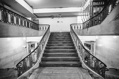I'd Love an Answer (Thomas Hawk) Tags: america grandcentral grandcentralstation grandcentralterminal manhattan nyc newyork newyorkcity usa unitedstates unitedstatesofamerica bw subway fav10 fav25