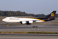N605UP (Jeroen Stroes Aviation Photography) Tags: ups 747800 anchorage boeing panc anc alaska planespotting aitplane cargo departure redyfordeparture ups747readyfornextflight