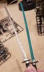 Nillson Works PG Grayscale Astray - Build Shot 1 (MT Falldog) Tags: nillsonworks nillson gunpla gundam astray grayscale