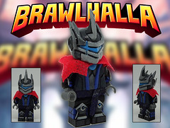 orion (-Toy Designer & iacopo / Minifigures / Custom-) Tags: orion ps4 game gaming lego custom minifig customminifig super hero imc italy iacopo toy design 2018 2019 brawlhalla sculpt clay green stuff