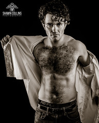 Model Izzy (Shawn Collins Photography) Tags: model modeling man men male malemodel built masculine handsome fashion hairy hairychest scruffy hirsute rugged