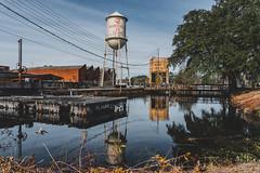 Graniteville Water Tower (frekljr) Tags: water river tower graniteville sony 24105