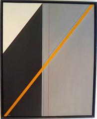 DIAGONALE GELB  1984 (HolgerArt) Tags: konstruktivismus gemälde kunst art acryl painting malerei farben abstrakt modern grafisch konstruktiv